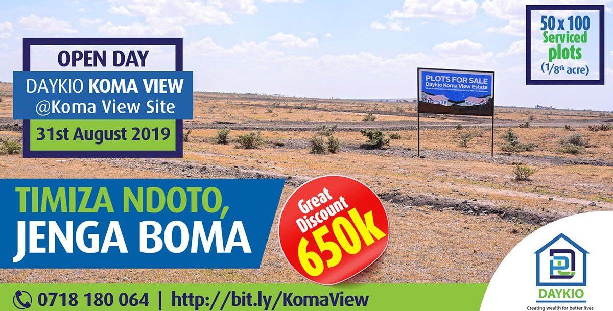 Jenga Boma at Daykio Koma View